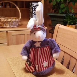 Patriotic Bunny NWT